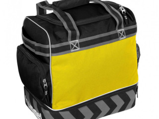 Yellow/black Hummel Pro backpacks excellence - bags