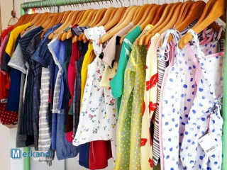 Second Hand Used Clothes Kids 25 KG Wholesale Uk Market All Season A G