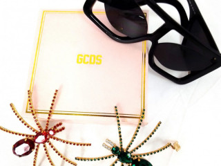 Mix of fashion accessories branded