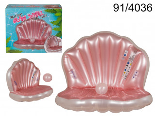 XXL swimming mattress - Shell with a pearl