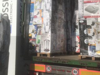 2.40m mixed pallets of household appliances, kitchen mixed return good