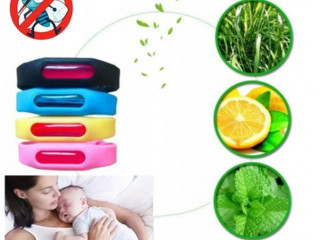 Mosquito Insect band Repellent Bracelet Silicone Adult Children