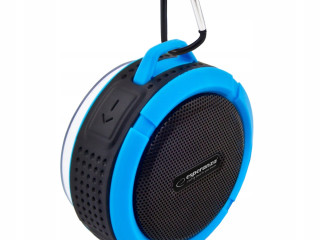 BLUETOOTH SPEAKER COUNTRY BLACK AND BLUE