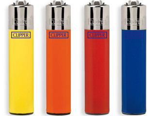 CLIPPER lighters mixed stock, case of 48 pcs.