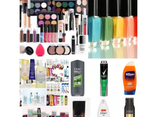 Assorted lot of cosmetics offer new stock