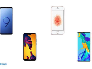 Joblot of smartphones - functional used products - 50 units