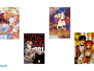 Joblot of Manga - new with packaging - 22000 units