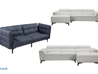 Joblot of sofas - new with original packaging - 13 units