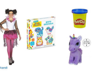 Joblot of toys - new with original packaging - 321 units