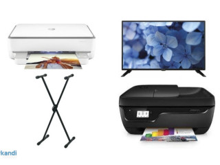 Joblot of TVs, printers and other products - non-functional - 38 units