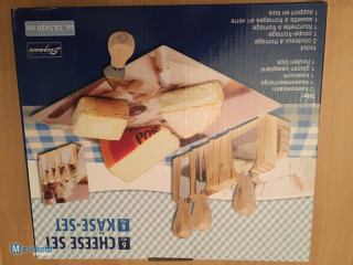 Cheese set 6 pieces