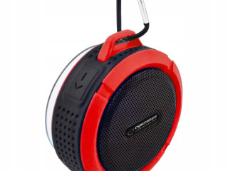 BLUETOOTH SPEAKER COUNTRY BLACK AND RED