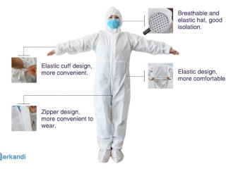***Isolation Coverall New Stock lot***
