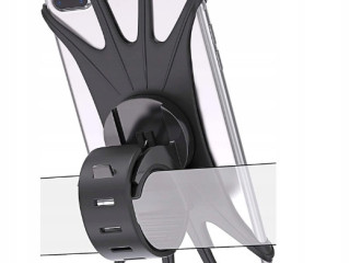 SILICONE BIKE HOLDER FOR SMARTPHONE PHONE MIX COLOUR