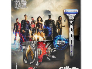 Gillette Mach3 Turbo gift set with razor + 2 replacement blades + Virt