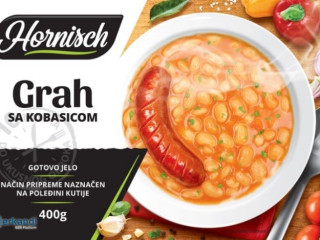 Ready meal - beans with sausage 400g