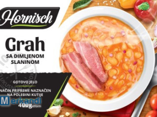 Ready meal - beans with bacon 400g