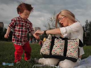 Fashion Bag for modern woman, practical, can be used as maternity bag