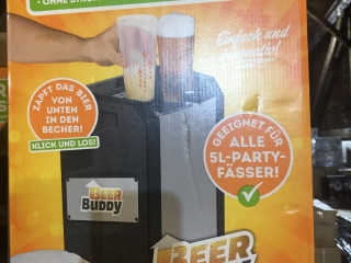 NEW   Beer Buddy dispenser - made in Germany   with original packaging
