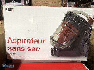 NEW   PEM vacuum cleaner without bag VC-111   with original packaging