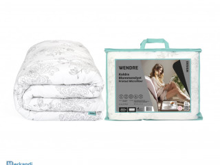 Year-round non-allergenic duvet 200x220 MEDICAL MEDICAL MODEL In FLOWERS
