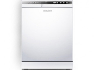 WHITE STAINLESS STEEL MULTIPROGRAMME DISHWASHER