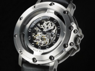 Chronas automatic skeleton watch with mechanical movement from Miyota