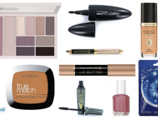 Cosmetic products in a mix