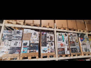 Unchecked returned goods mixed pallets mixed pallets