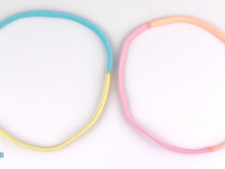 RUBBER HAIRBANDS, MIX