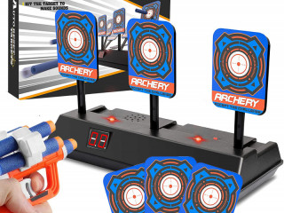 ELECTRIC SHIELD FOR NERF LAUNCHER TARGET SHOOTING RANGE INTER-01