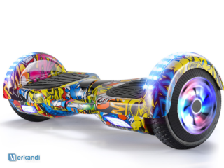 hoverboard scooter 6.5 inch with wheel led