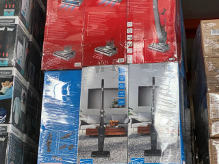 Vacuum cleaners, stick vacuum cleaners, B goods, goods for export, household goods