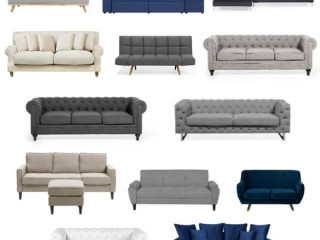 Stock #086 of Grade B sofas, with defects!