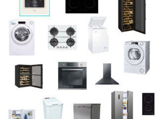 New appliances with European warranty, Candy Hoover brand!