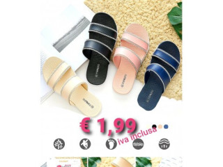 STOCK SLIPPERS WOMAN