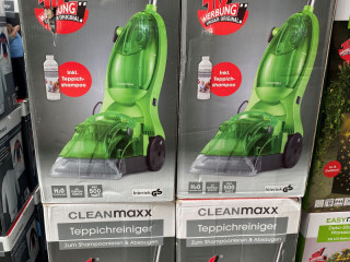 Cleanmaxx, carpet cleaner, A goods, household goods
