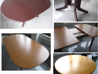 54. High-quality wooden dining tables