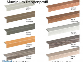 ALU stair profile * good quality * different decors