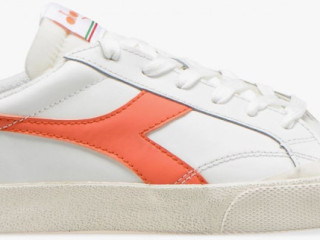 Diadora Wms Melody Heritage Leather Dirty White/Red Camelia