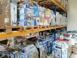33 pallets of tools and household appliances
