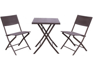 BALCONY FURNITURE SET TABLE + 2 CHAIRS