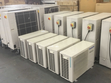 Job Lot of Air Conditioning Equipment from liquidated Company