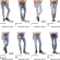 Stock Women's Jeans Samples Spring/Summer-5