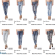 Stock Women's Jeans Samples Spring/Summer-7